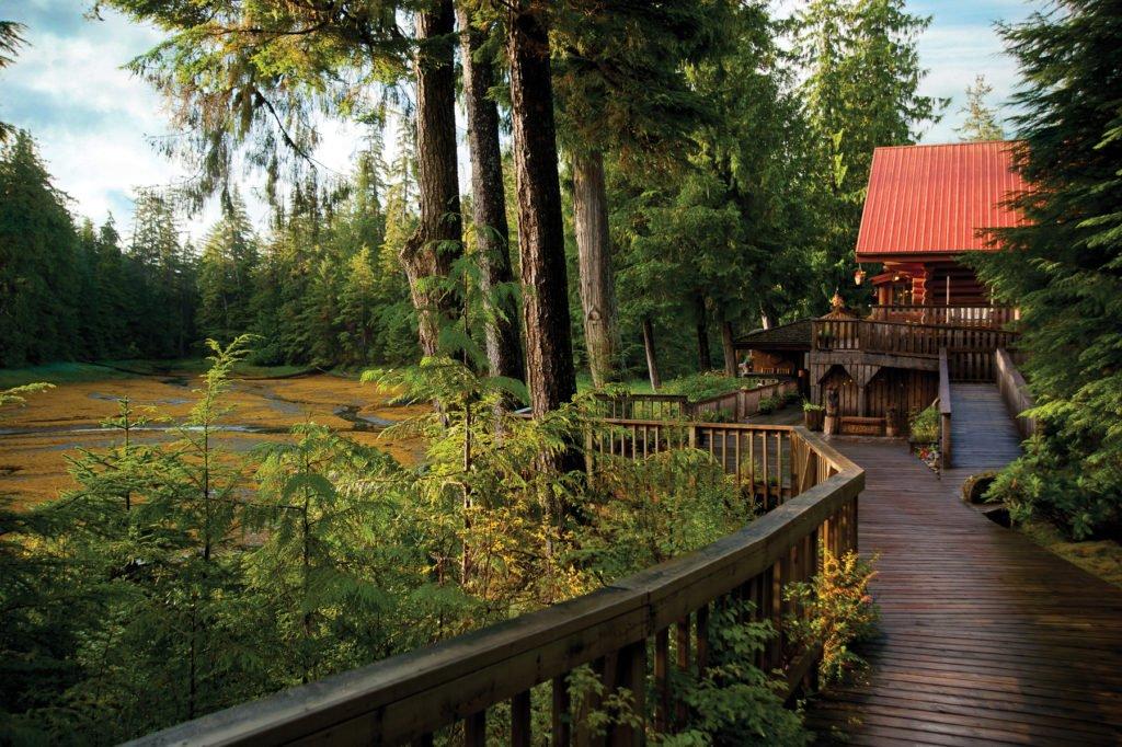 Main Lodge from boardwalk