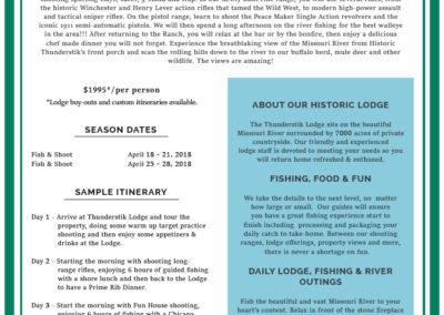 New Information Sheet - Walleye Cast & Blast Event 6