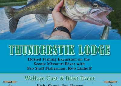 Walleye Cast and Blast Event