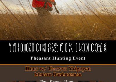 Garrett's Pheasant Hunt Invite