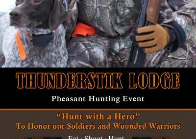 Hunt with a hero invitation