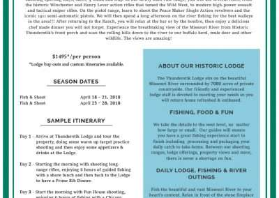 Information Sheet - Walleye Cast Blast Event 2019 - revised 12.6.18