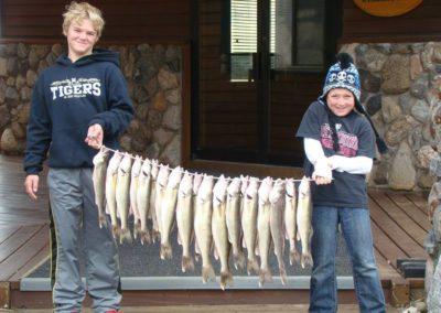 walleye in south dakota kids