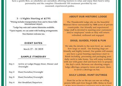 Garrett Yrigoyen Pheasant Hunting Information Sheet - Revised 1.21.19
