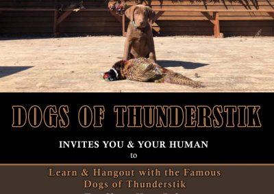 Dogs of Thunderstik Invitation