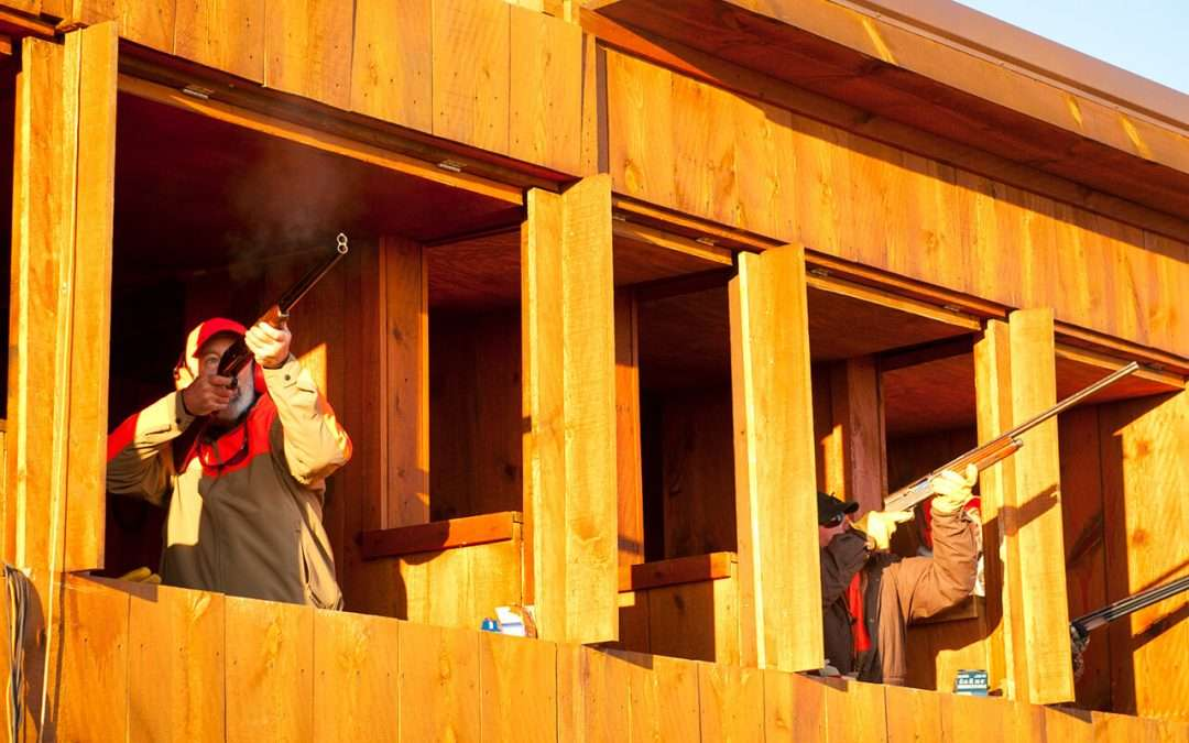 Shooting Range at Thunderstik Lodge