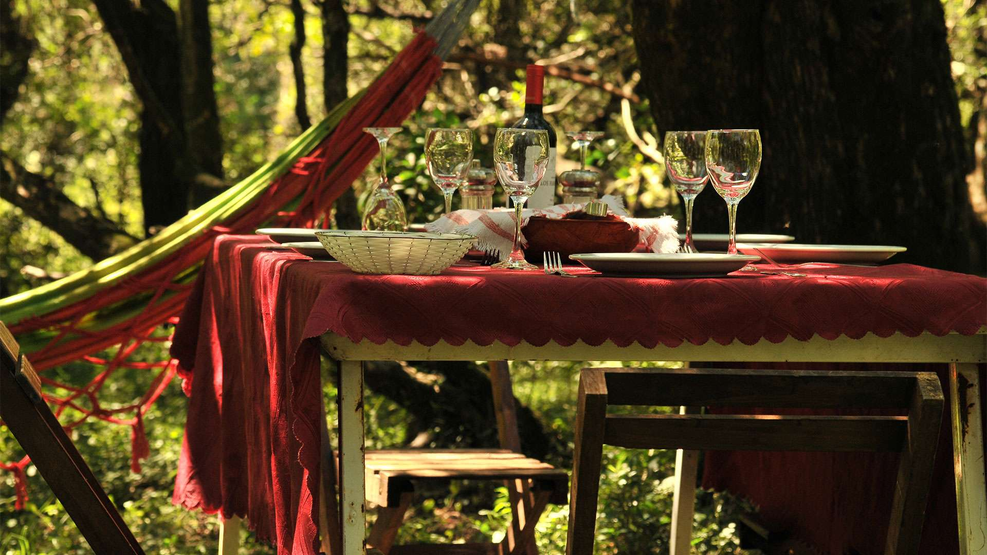 Dove Hunting Lodge Dining
