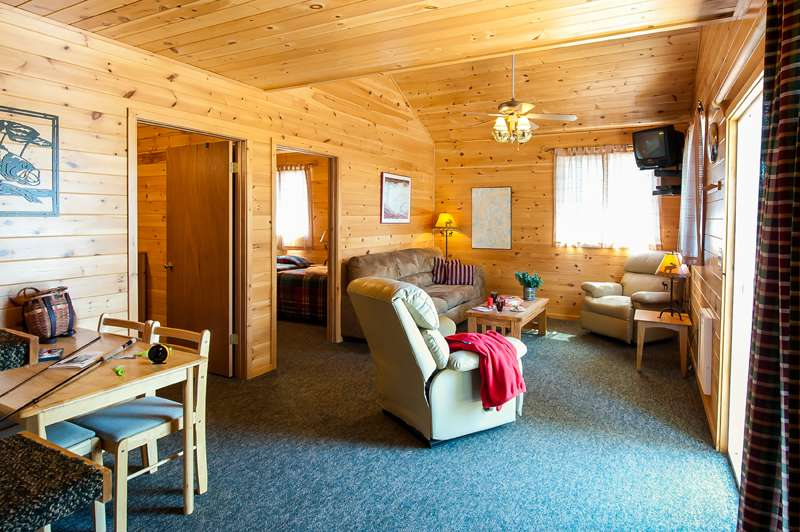 Canada cabins and lodge