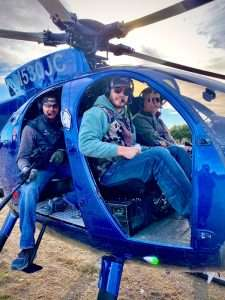 helicopter hog hunting TX