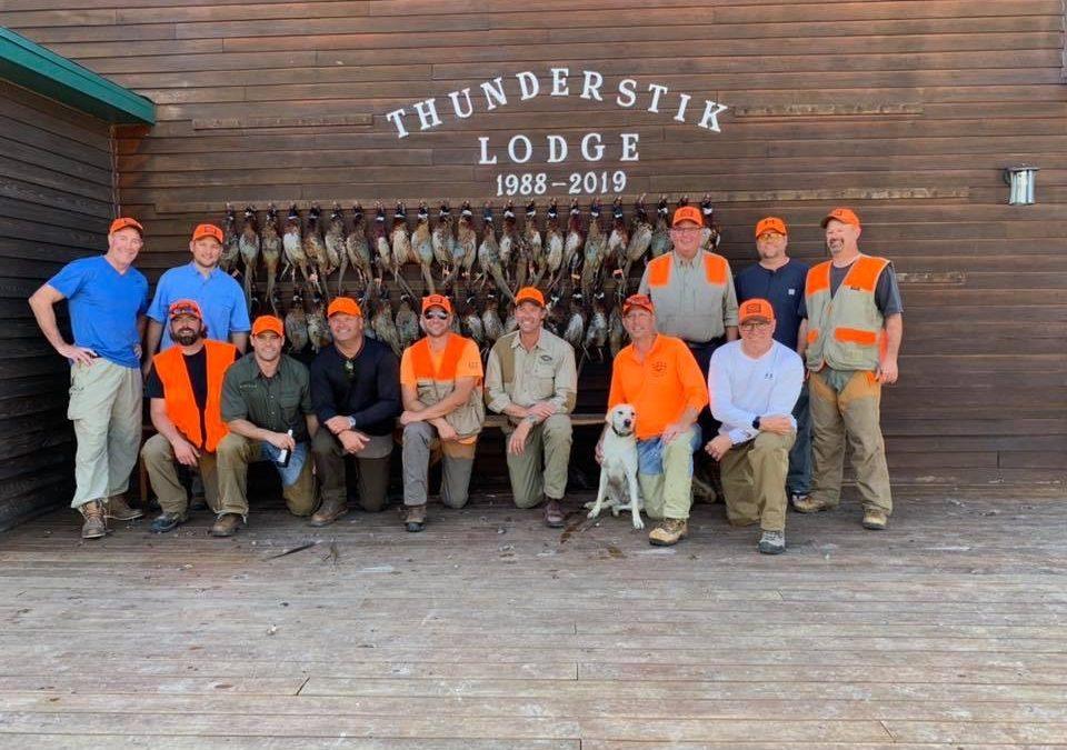 thunderstik lodge pheasant hunting SD
