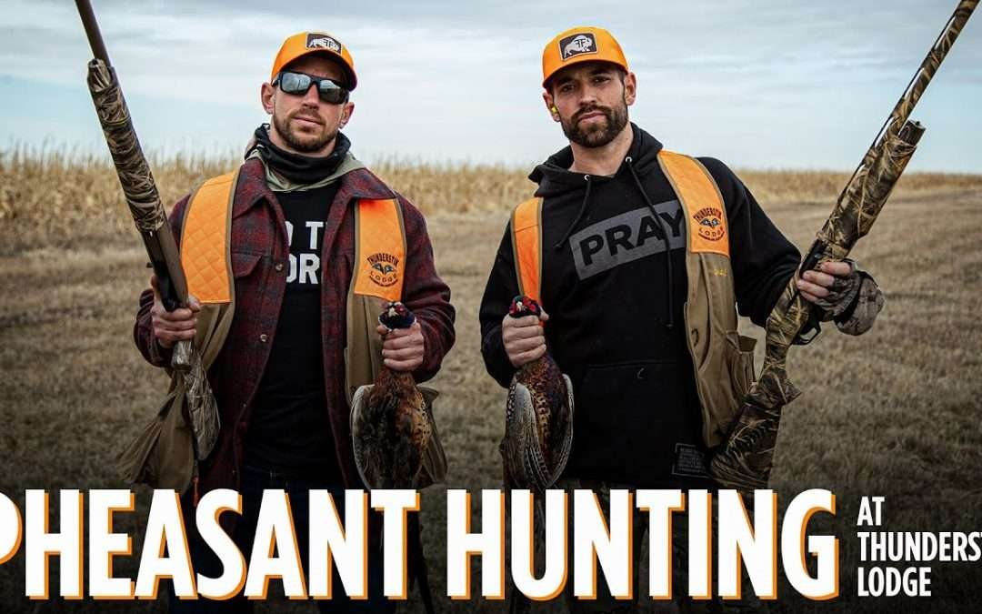 Rich Froning pheasant hunt
