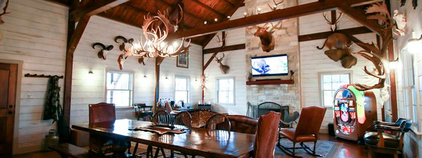 Texas hill country wild game ranch