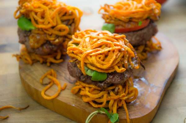 Here's a tasty Wild game meat version of a Pub Classic- Bison Sliders (Paleo friendly)