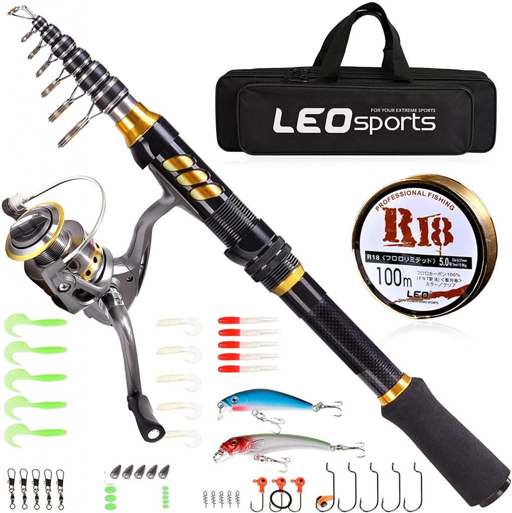 CLORIS Nwest Fishing Rod and Reel Combo