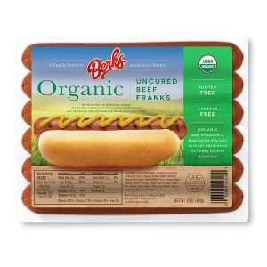 Berks organic hot dogs